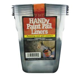 HANDy HANDy Paint Pail Disposable Paint Tray (Common: 5-in x 6-in; Actual 5.5-in x 6.5-in)