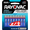 Rayovac 8-Pack AAA Alkaline Batteries