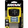 Rayovac 50-Lumen LED Headlamp Battery Flashlight