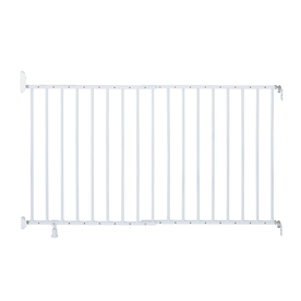 Summer Infant 54-in x 30-in White Metal Child Safety Gate