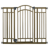 Summer Infant 48-in x 36-in Champagne and Bronze Metal Child Safety Gate