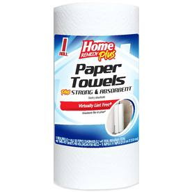 Home Remedy Plus 1-Roll White Paper Towel