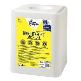 Diamond Crystal 50 lbs Water Softening Salt Block