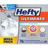 Hefty 76-Count 13-Gallon Indoor Trash Bags