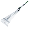 Garden Plus 35-in L Steel-Handle Steel-Head Garden Rake