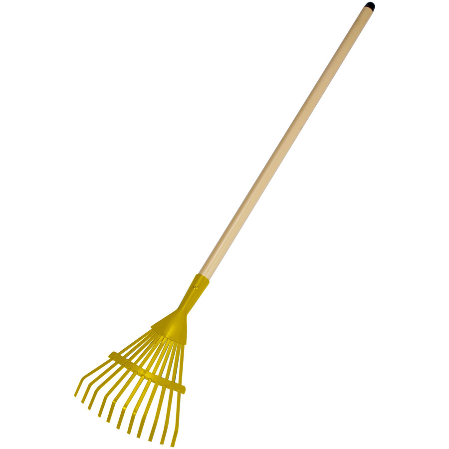 shop garden pals kids long handle shrub rake at