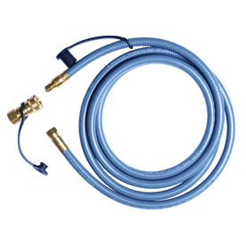 Worthington Pro Grade 3/8-in 0.38-in x 120-in Male-Female Quick-Connect Natural Gas Hose