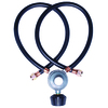 Worthington Pro Grade 3/8-in 0.31-in Dia x 24-in L Standard Propane Tank Regulator with Hose