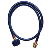 Worthington Pro Grade 3/8-in 0.31-in x 48-in Male-Female Propane Hose