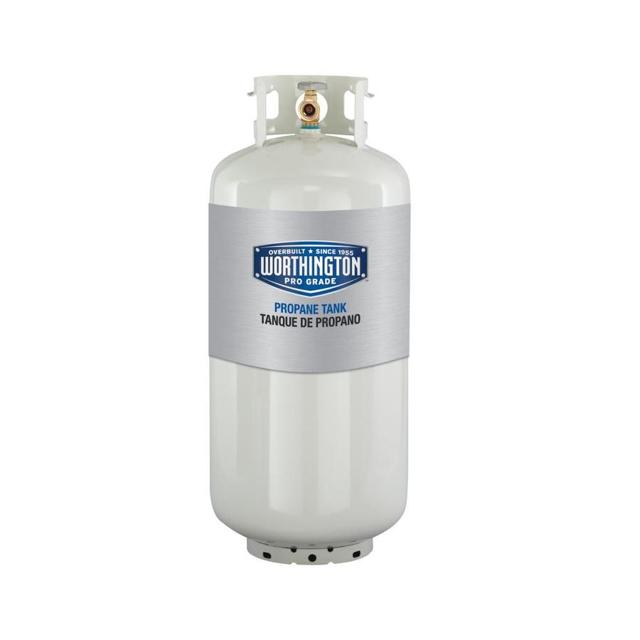 Shop Worthington Pro Grade 40 Lb Propane Tank At Lowes Com