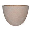 allen + roth 11-3/16-in H x 15-3/4-in x 15-3/4-in D Pietra Resin Planter