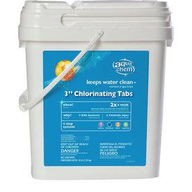 Aqua Chem 16 lbs Bucket 3-in Pool Chlorinating Tabs