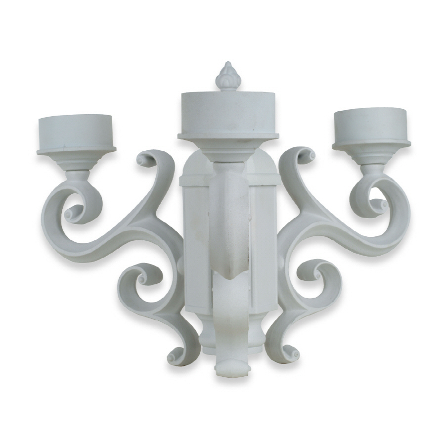 Outdoor Lamp Post Adapter: Shop Royce Lighting White Outdoor Post Adapter At Lowes.com