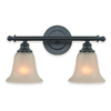 Royce Lighting 2-Light Bronze Bathroom Vanity Light