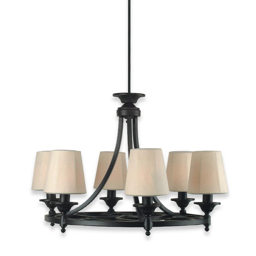 shop royce lighting 6 light plug in chandelier at. Black Bedroom Furniture Sets. Home Design Ideas