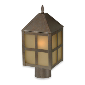 Royce Lighting Three in One Convertible Lantern, in Corinthian Bronze finish