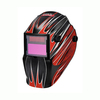 Lincoln Electric Auto Darkening Variable Shade Red Welding Helmet