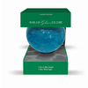 Garden Treasures 10-in Blue Blown Glass Gazing Ball