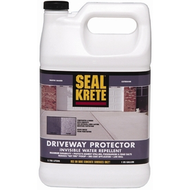 Shop seal krete gallon exterior flat porch and floor clear paint and primer in one at - Exterior paint sealant concept ...