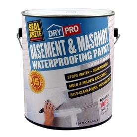paint stains sealers waterproofers seal krete basement masonry