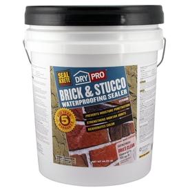 Seal-Krete Brick & Stucco Waterproofing Sealer