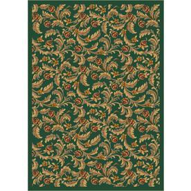 Milliken Latin Rose Multicolor Rectangular Indoor Tufted Area Rug (Common: 4 x 6; Actual: 46-in W x 64-in L)