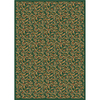 Milliken 7-ft 8-in x 10-ft 9-in Emerald Latin Rose Area Rug