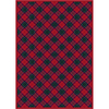 Milliken 7-ft 8-in x 10-ft 9-in Ruby Emerald Fergus Area Rug