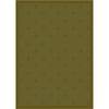 Milliken Oxford 64-in x 46-in Rectangular Green Transitional Area Rug