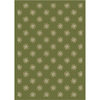 Milliken Pinwheel 64-in x 46-in Rectangular Green Transitional Area Rug