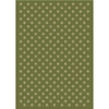 Milliken Pinwheel 129-in x 92-in Rectangular Green Transitional Area Rug