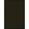 Milliken 7-ft 8-in x 10-ft 9-in Dark Chocolate Kismet Area Rugs