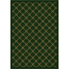 Milliken Kismet 64-in x 46-in Rectangular Green Transitional Area Rug