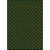 Milliken Kismet 129-in x 92-in Rectangular Green Transitional Area Rug