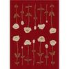 Milliken Poppy Multicolor Rectangular Indoor Tufted Area Rug (Common: 8 x 11; Actual: 92-in W x 129-in L)
