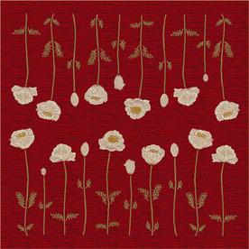 Milliken Poppy Multicolor Square Indoor Tufted Area Rug (Common: 8 x 8; Actual: 91-in W x 91-in L)