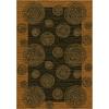 Milliken Wabi Multicolor Rectangular Indoor Tufted Throw Rug (Common: 2 x 4; Actual: 24-in W x 46-in L)