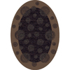Milliken Wabi Multicolor Oval Indoor Tufted Area Rug (Common: 5 x 8; Actual: 64-in W x 92-in L)