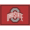 Milliken 2-ft 8-in x 3-ft 10-in Rectangular NCAA Ohio State Buckeyes Accent Rug