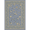Milliken Hampshire 92-in x 64-in Rectangular Blue Transitional Area Rug