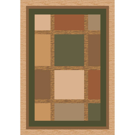 Milliken Ababa Rectangular Cream Transitional Tufted Area Rug (Common: 5-ft x 8-ft; Actual: 5.33-ft x 7.66-ft)