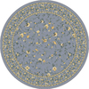 Milliken Hampshire Multicolor Round Indoor Tufted Area Rug (Common: 8 x 8; Actual: 91-in W x 91-in L)
