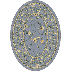 Milliken Hampshire Multicolor Oval Indoor Tufted Area Rug (Common: 4 x 6; Actual: 46-in W x 64-in L)