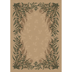 Milliken Baskerville Rectangular Brown Transitional Tufted Area Rug (Common: 8-ft x 11-ft; Actual: 7.66-ft x 10.75-ft)