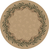 Milliken 7-ft 7-in Round Barley Baskerville Area Rug