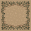 Milliken Baskerville Multicolor Square Indoor Tufted Area Rug (Common: 8 x 8; Actual: 91-in W x 91-in L)