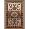 Milliken Ahvas 32-in x 46-in Rectangular Gold Accent Rug