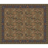 Milliken 10-ft 9-in x 13-ft 2-in Autumn Green Sandakan Area Rug