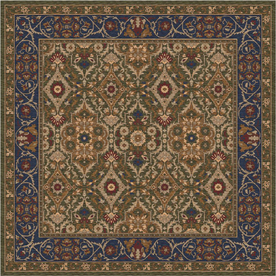 Milliken Sandakan Multicolor Square Indoor Tufted Area Rug (Common: 8 x 8; Actual: 91-in W x 91-in L)