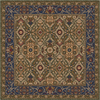 Milliken 7-ft 7-in x 7-ft 7-in Autumn Green Sandakan Area Rug